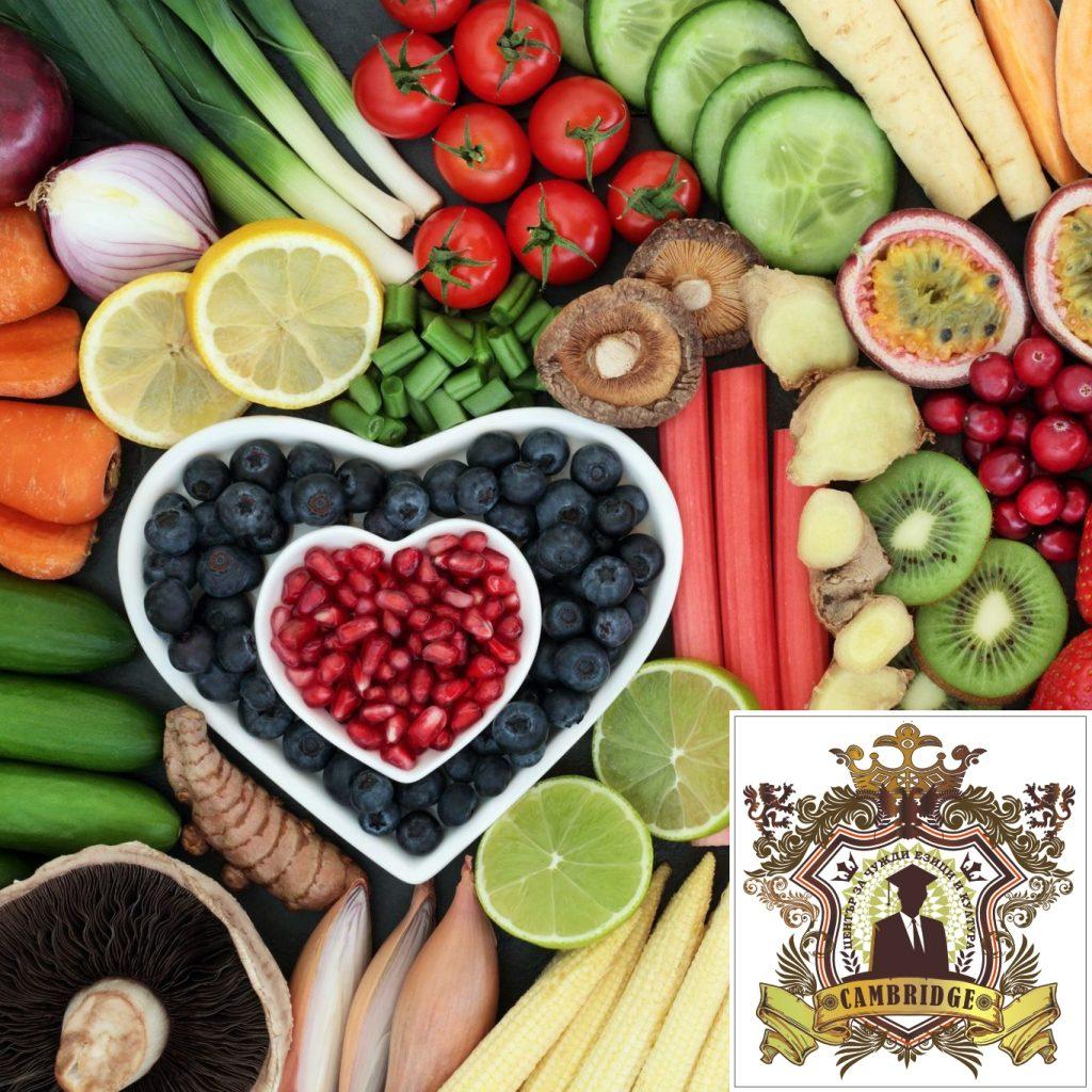 Представяме Ви Курс по Здравословно Хранене и Диетика от 1-во до 3-то Ниво.